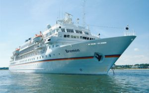 Live Cruise Ship Tracker for MS Bremen, Hapag-Lloyd Cruises