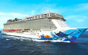Live Cruise Ship Tracker for Norwegian Escape, Norwegian Cruise Line
