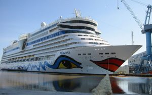 Live Cruise Ship Tracker for AIDAbella, AIDA Cruises