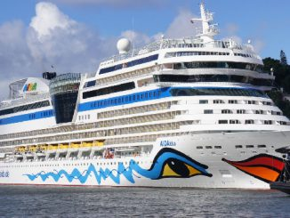 AIDAblu Cruise Ship Tracker App, vessel tracker by name and live cruise ship positions AIDA Cruises