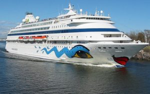 Live Cruise Ship Tracker for AIDAcara, AIDA Cruises