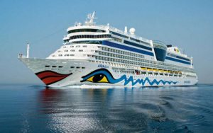 Live Cruise Ship Tracker for AIDAdiva, AIDA Cruises