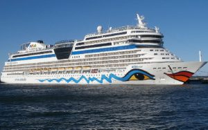 Live Cruise Ship Tracker for AIDAmar, AIDA Cruises