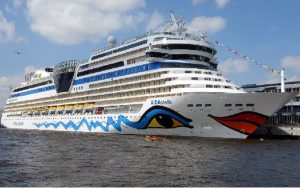 Live Cruise Ship Tracker for AIDAstella, AIDA Cruises