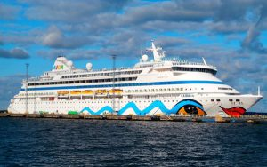 Live Cruise Ship Tracker for AIDAvita, AIDA Cruises