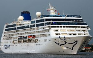 Live Cruise Ship Tracker for P&O Adonia, P&O Cruises