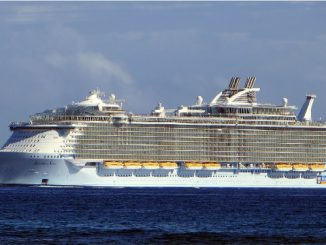 Allure of the Seas Cruise Ship Tracker App, vessel tracker by name and live cruise ship positions Royal Caribbean Cruise Line