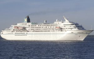 Live Cruise Ship Tracker for MS Amadea, Phoenix Reisen Cruises