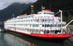 Live Cruise Ship Tracker for American Empress, American Queen Steamboat Company
