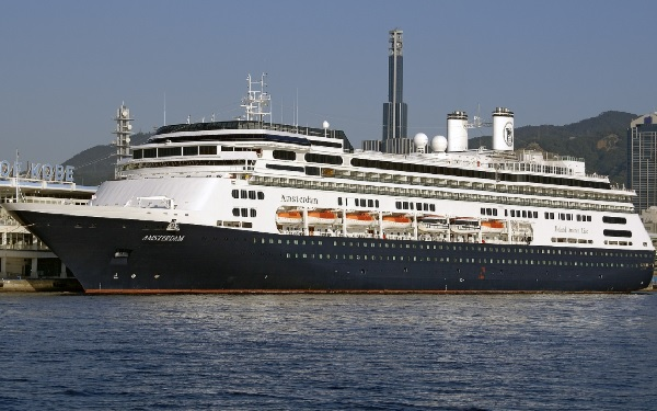 Live Cruise Ship Tracker for MS Amsterdam, Holland America Line