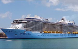 Live Cruise Ship Tracker for Anthem Of The Seas, Royal Caribbean Cruise Line