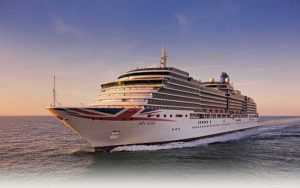 Live Cruise Ship Tracker for P&O Arcadia, P&O Cruises