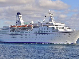 Live Cruise Ship Tracker for MS Astor, Cruise & Maritime Voyages