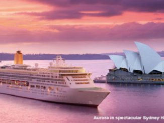 Live Cruise Ship Tracker for P&O Aurora, P&O Cruises
