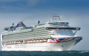 Live Cruise Ship Tracker for P&O Azura, P&O Cruises