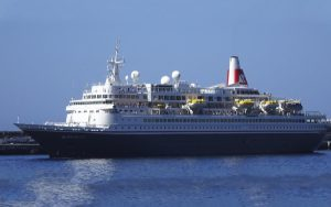 Live Cruise Ship Tracker for MV Boudicca, Fred Olsen Cruises