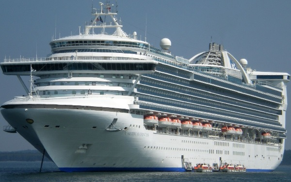 Live Cruise Ship Tracker For Caribbean Princess, Princess