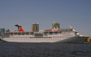 Live Cruise Ship Tracker for Carnival Inspiration, Carnival Cruises