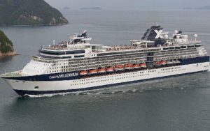 Live Cruise Ship Tracker for Celebrity Millennium, Celebrity Cruises