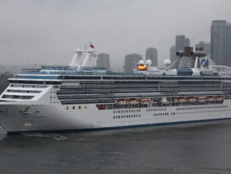 Live Cruise Ship Tracker for Coral Princess, Princess Cruises
