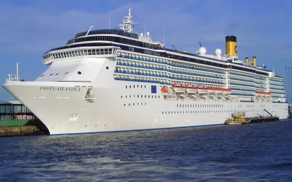 Costa Atlantica Cruise Ship Tracker App, vessel tracker by name and live cruise ship positions Costa Cruises