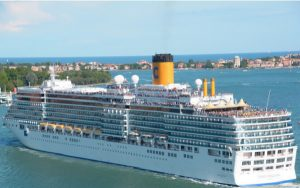 Live Cruise Ship Tracker for Costa Deliziosa, Costa Cruises