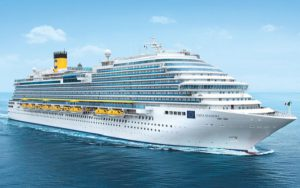 Live Cruise Ship Tracker for Costa Diadema, Costa Cruises