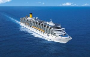 Live Cruise Ship Tracker for Costa Fascinosa, Costa Cruises