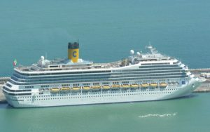 Live Cruise Ship Tracker for Costa Fortuna, Costa Cruises