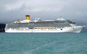 Live Cruise Ship Tracker for Costa Luminosa, Costa Cruises