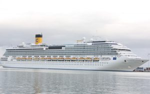 Live Cruise Ship Tracker for Costa Pacifica, Costa Cruises