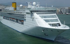 Live Cruise Ship Tracker for Costa Victoria, Costa Cruises