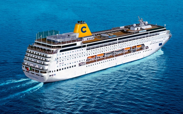 Live Cruise Ship Tracker For Costa NeoRiviera, Costa
