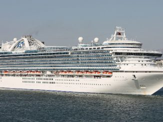 Live Cruise Ship Tracker for Crown Princess, Princess Cruises
