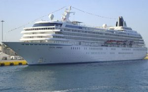 Live Cruise Ship Tracker for Crystal Symphony, Crystal Cruises