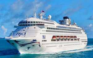 Live Cruise Ship Tracker for P&O Pacific Dawn, P&O Cruises