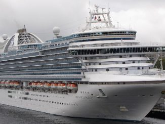Live Cruise Ship Tracker for Emerald Princess, Princess Cruises