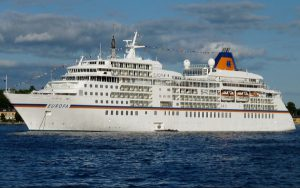 Live Cruise Ship Tracker for MS Europa, Hapag-Lloyd Cruises