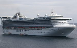 Live Cruise Ship Tracker for Golden Princess, Princess Cruises