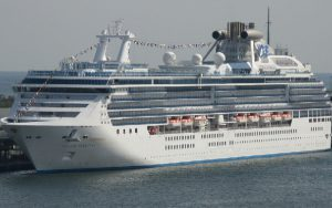 Live Cruise Ship Tracker for Island Princess, Princess Cruises