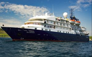 Live Cruise Ship Tracker for Island Sky, Quark Expeditions