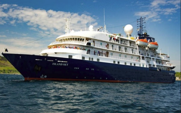 Live Cruise Ship Tracker For Island Sky Quark Expeditions U2013 Live Cruise Ship Tracker