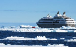 Live Cruise Ship Tracker for Le Boreal, Ponant Cruises