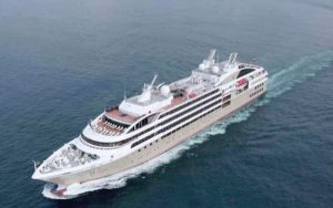 Live Cruise Ship Tracker for Le Lyrial, Ponant Cruises