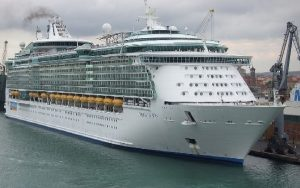 Live Cruise Ship Tracker for Liberty Of The Seas, Royal Caribbean Cruise Line