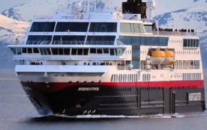 Live Cruise Ship Tracker for MS Midnatsol, Hurtigruten Cruises