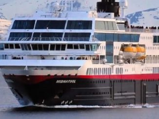 MS Midnatsol Cruise Ship Tracker App, vessel tracker by name and live cruise ship positions Hurtigruten Cruises