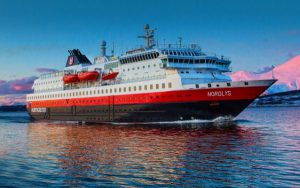 Live Cruise Ship Tracker for MS Nordlys, Hurtigruten Cruises