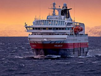 MS Polarlys Cruise Ship Tracker App, vessel tracker by name and live cruise ship positions Hurtigruten Cruises