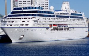 Live Cruise Ship Tracker for MS Regatta, Oceania Cruise Line